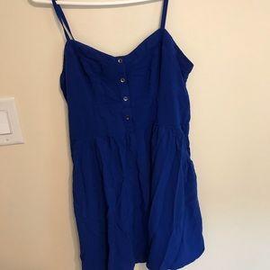 Dresses & Skirts - Royal blue express dress
